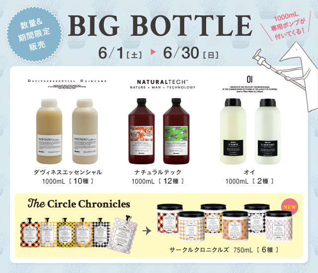 BIG BOTTLE発売